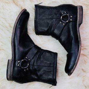 FRYE: Harness Boots